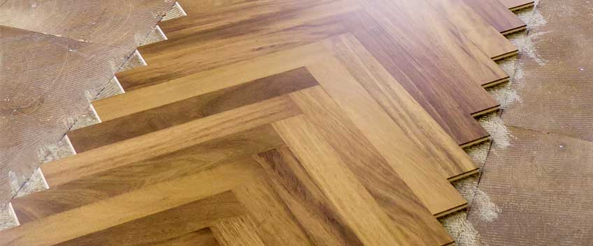 How to Install Herringbone Flooring